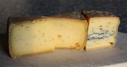 Käsesorten vom Hof Klostersee